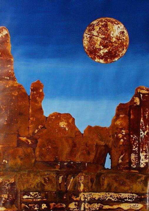 VU 135 Rock Formation with Terrace - Heinz Sterzenbach