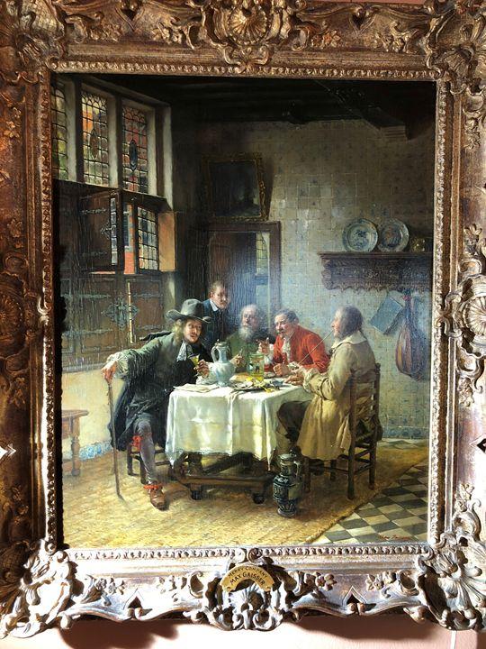 Merry Company -Max Gaisser - Glen Master Gallery