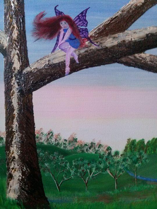 Orchard fairy - Kemp Artwork