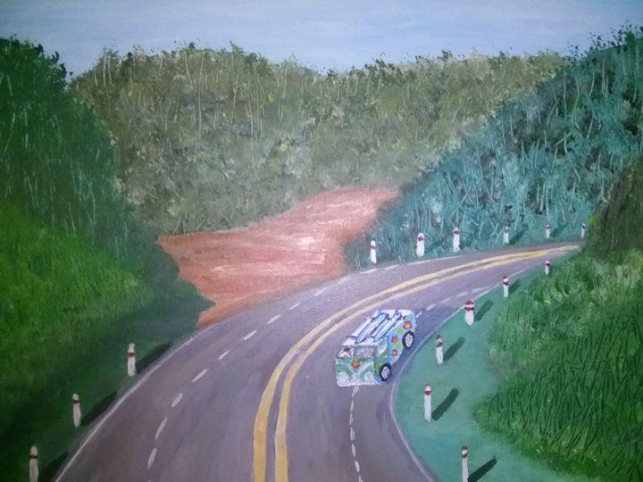 The fork in road - Kemp Artwork