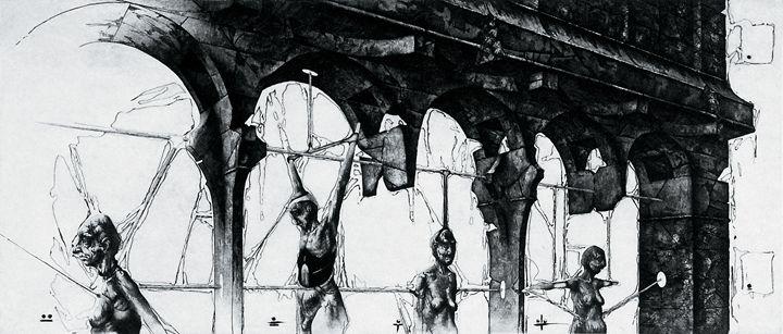 Op. 93. Blinds honor guards - Ihor Podolchak