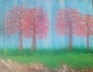 Cherry Blossom Rainshower