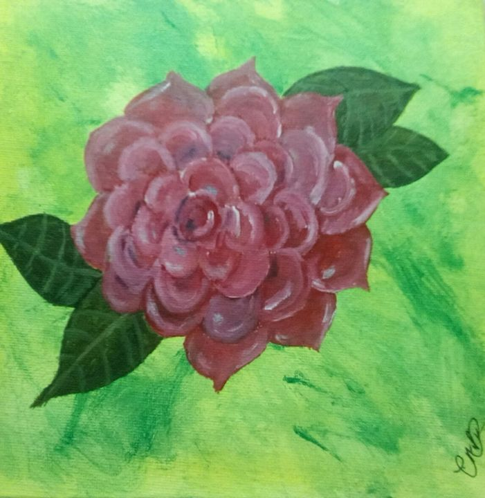 """Gifted Rose - """" Not so perfect Art """""""