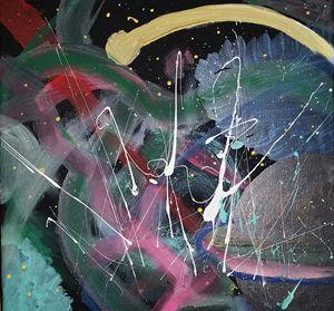 Splattered space