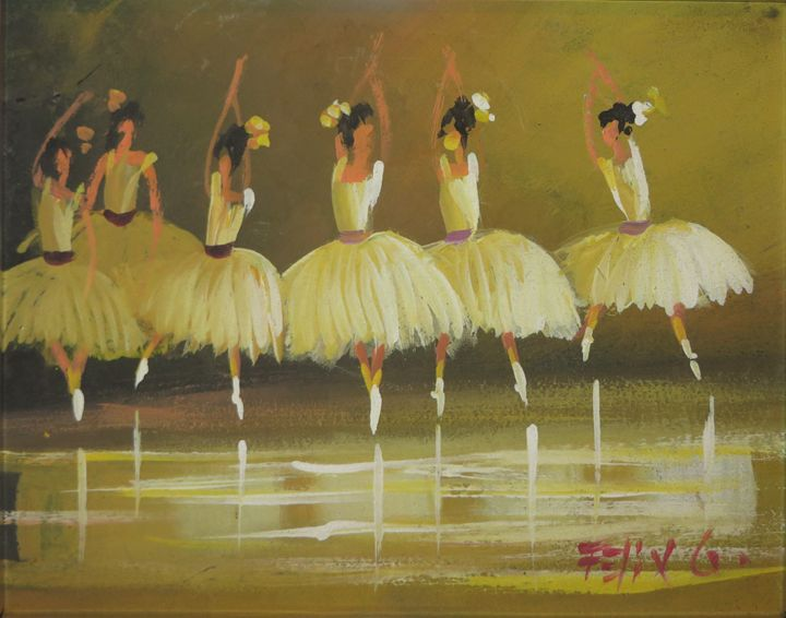 Ballet Dancer II - Latin Art