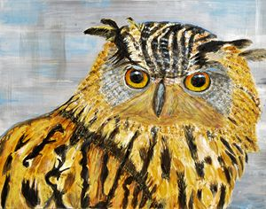 Eagle Owl - Lyndall's Artwork