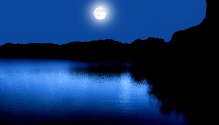 Moonlight Love - Black Nature