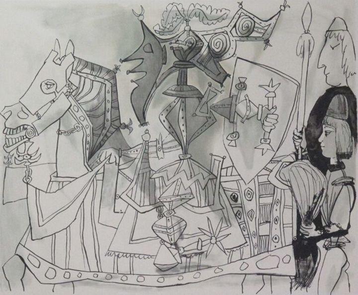 Pablo Picasso Jeux de Pages /500 Ltd - The Art Guy