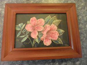 Pink Azaleas - Reflections by Dorothy Blalock
