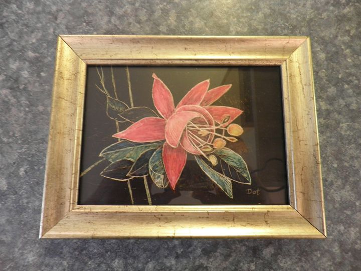 Bell Flower - Reflections by Dorothy Blalock