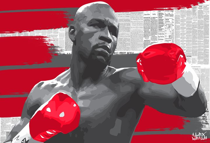 mayweather - Alex Wealth art