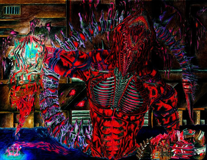 A Necrotic Xenomorph - My Imagination/ Moises castellanos