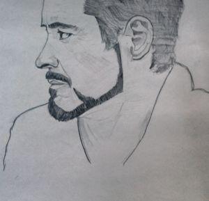 robert downey jr. sketch