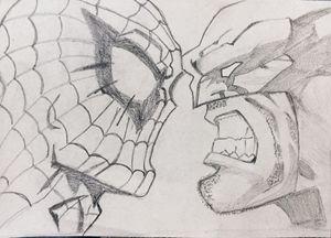 spiderman Vs. wolverine