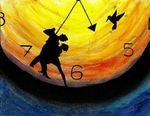 Lovers Clock