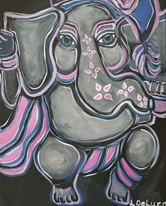 Ganesha with Tassle