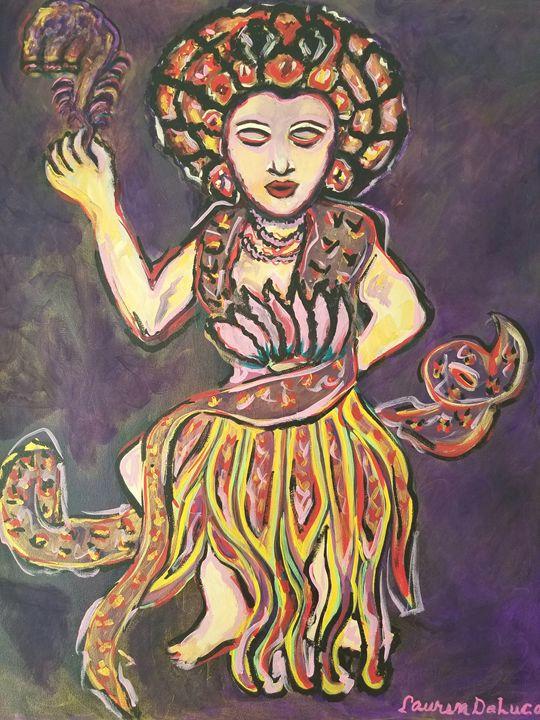 Kuan Yin - Pink Lotus Art