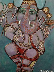 Ganesha Pink Lotus