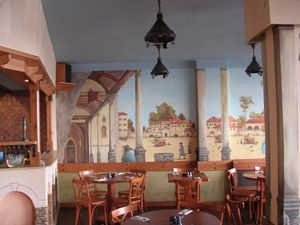 Mural - Pizzeria