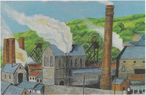 Coal Mine Hopkistown Pontypridd