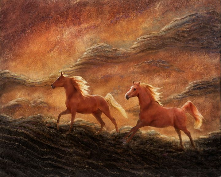 Sandstone Sunset - WILD ART BY MELINDA