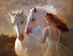 A Celtic Fantasy - WILD ART BY MELINDA