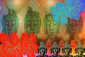 Budha in Colors