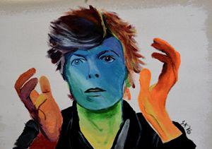Bowie - Acrylic on Canvas