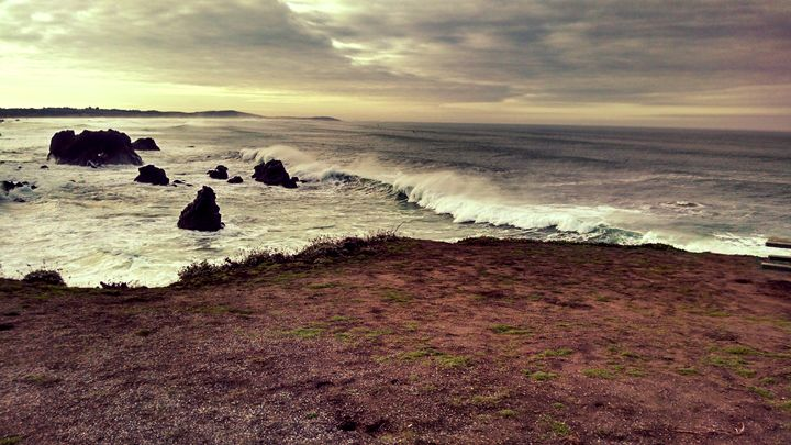 Cloudy day at the coast - Steven's gallery