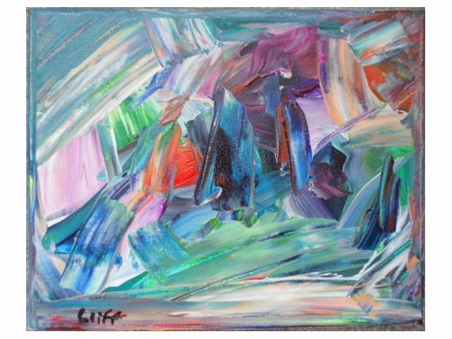Free flow - Cliff's Desoteric Art