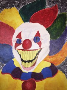 Scary Laughing Clown