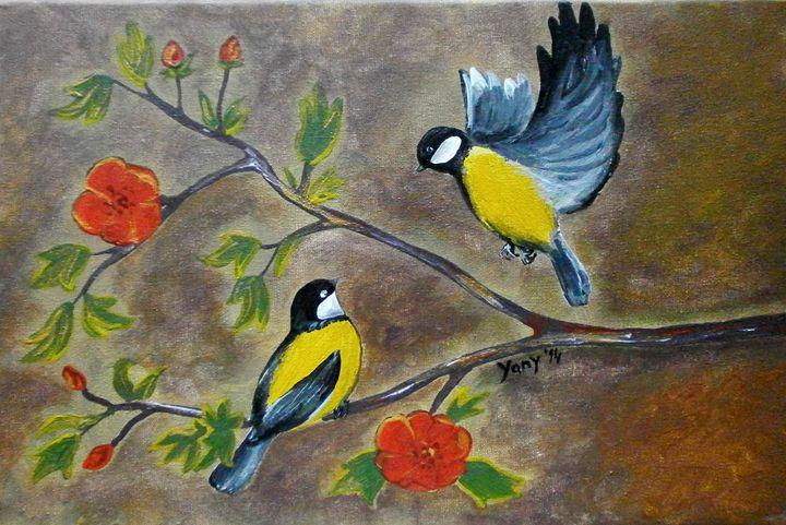 chickadee - Art by Yany