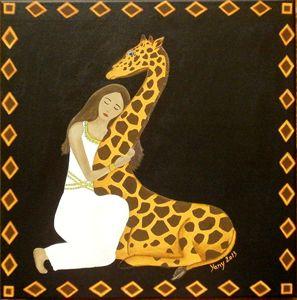 Giraffe s love