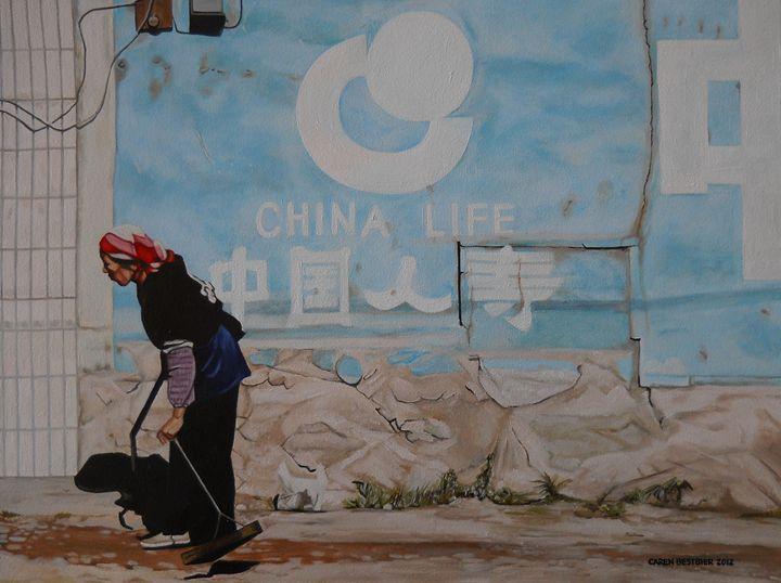 China Life - Caren Bestbier Art