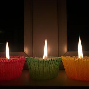 3 Lit Candles - CaitsCaptures