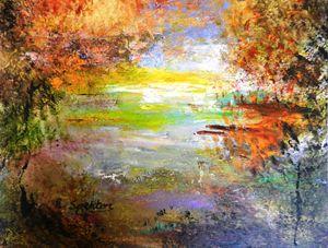 Autumn by Secret Lake