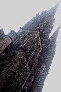 French City - Gothic Church