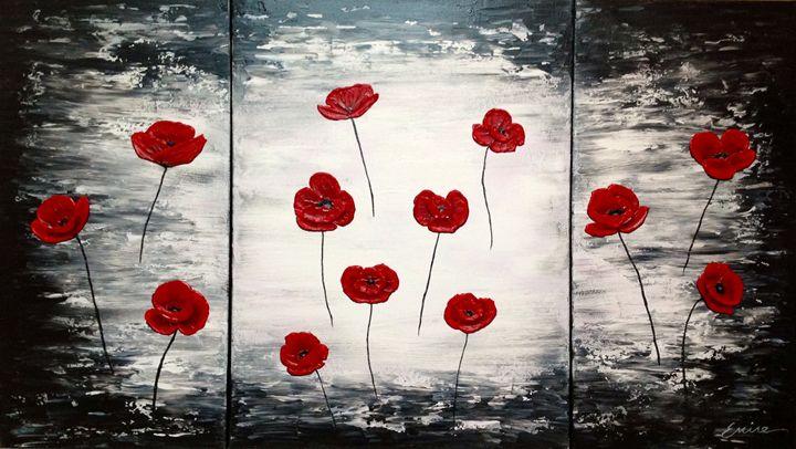 Red Poppies - EminentArt