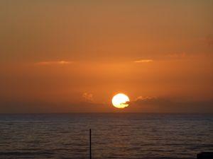 Sunset at Praia das Maces