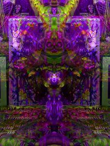 Ultra Violet Clown Light