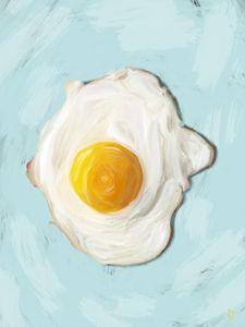Egg, Sunny Side Up. - Christopher Dahr