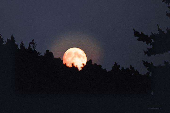 Yellow Moon II - Shirleypix Art & Photography