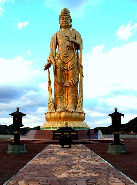 Golden Buddha - Shirleypix Art & Photography