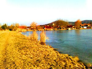 106 Lake and the Sun