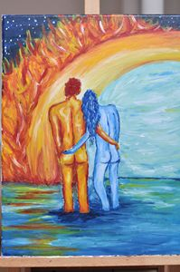 Love through fire and ice