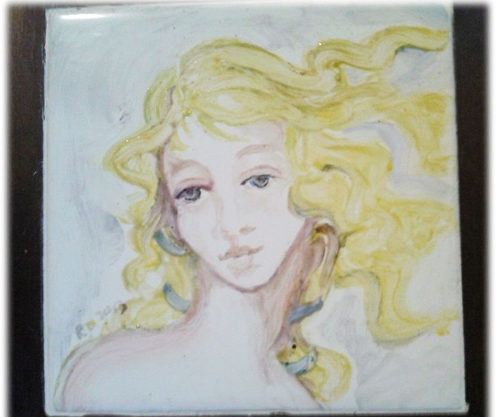 Angel tile Trivet - New Age Art