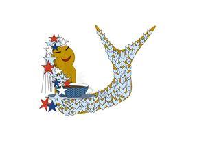 Happy July 4th Mermaid! - C.Finn