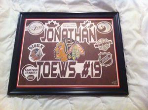 Jonathan Toews ARTWORK ORIGINAL