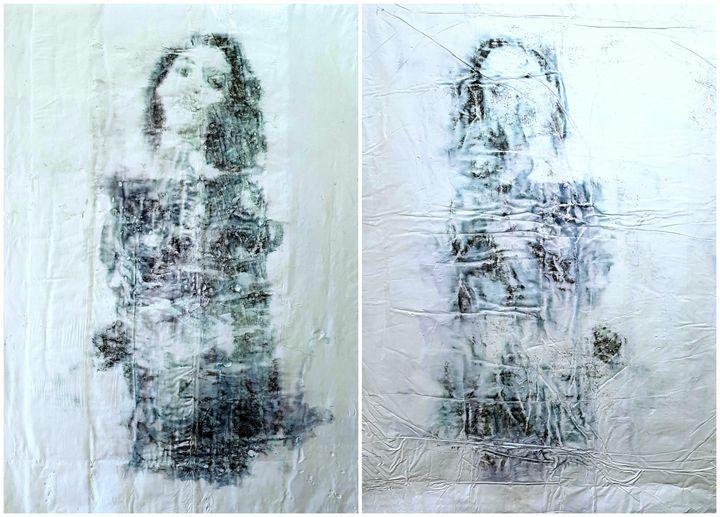 Twin sisters -02- (n.421) - diptych - Alessio Mazzarulli