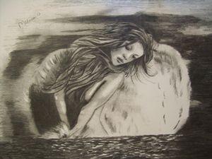 Angel in heavenly water.